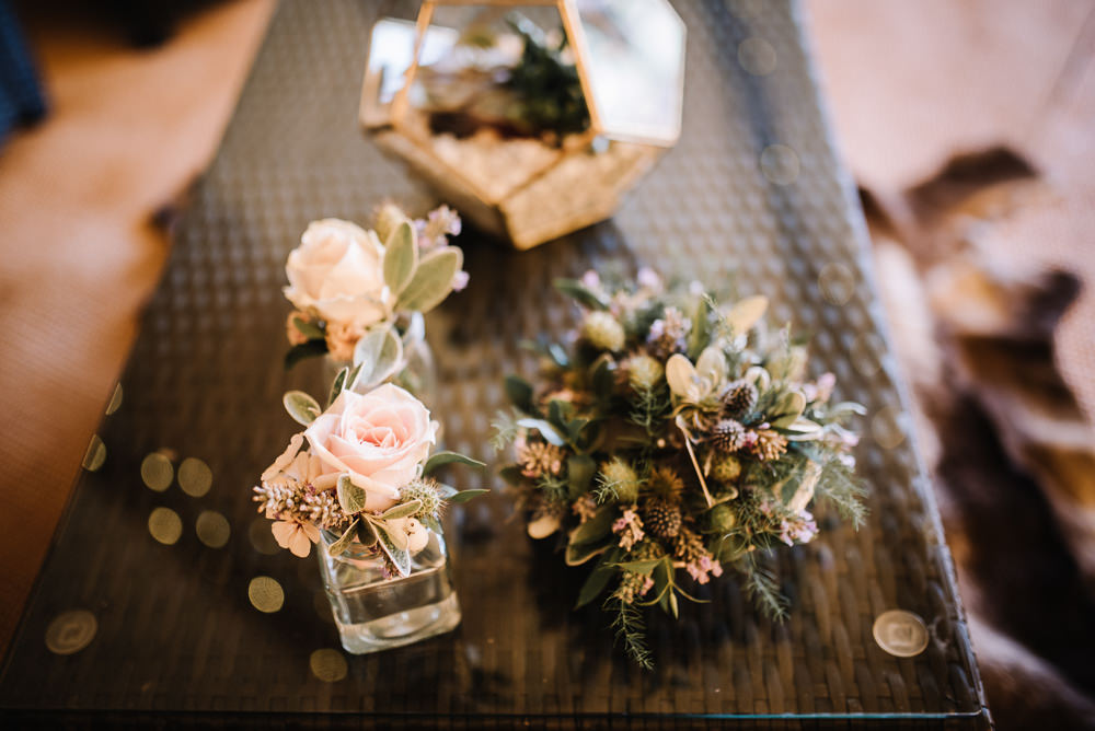 Flowers Bottles Pretty Alcott Weddings Oobaloos Photography