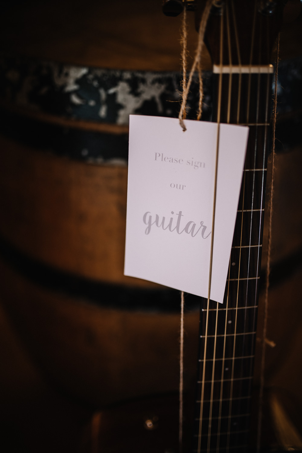 Guitar Music Guest Book Alcott Weddings Oobaloos Photography