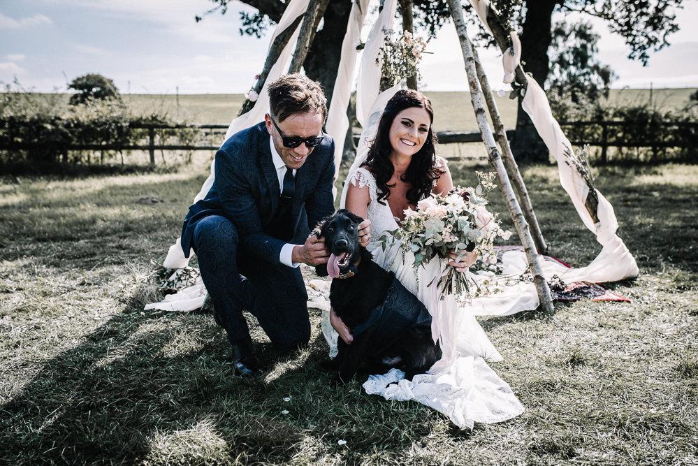 Dog Pet Alcott Weddings Oobaloos Photography