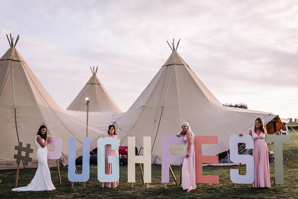Festival Sign Signage Letters Alcott Weddings Oobaloos Photography