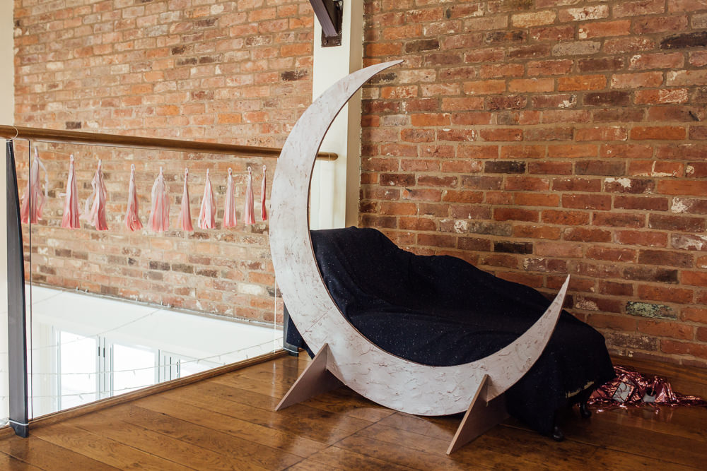 Paper Moon Photo Booth Celestial Country Wedding Florence Fox Photography