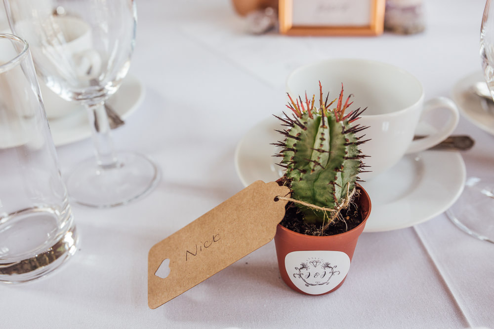 Favour place Name Cactus Celestial Country Wedding Florence Fox Photography