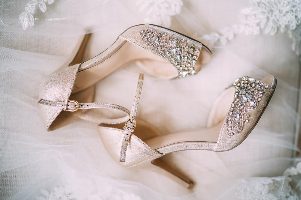 Shoes Heels Bride Bridal Old Down Estate Wedding Albert Palmer Photography