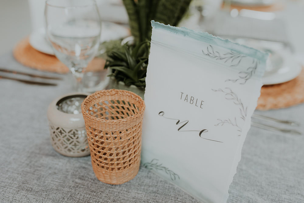 Watercolour Stationery Sage Green Pale Blue Scandinavian Mid Century Minimal Wedding Ideas Rachel Lou Photography