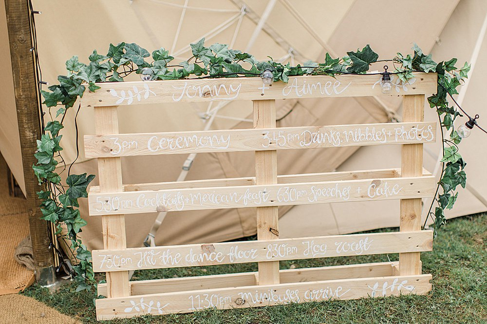 Wooden Sign Pallet Painted Greenery Calligraphy Chiltern Open Air Museum Wedding Terri & Lori Fine Art Photography