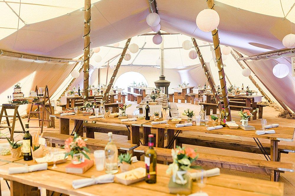 Tipi Decor Lanterns Chiltern Open Air Museum Wedding Terri & Lori Fine Art Photography