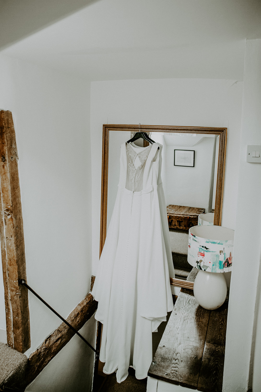 Justin Alexander Dress Gown Bride Bridal Train Veil Illustion Back City Cathedral Country Marquee Wedding Siobhan Beales Photography