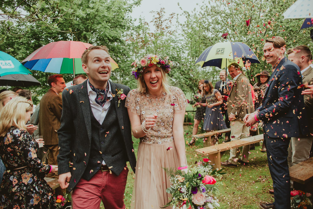Confetti Throw Plush Tents Glamping Wedding Big Bouquet Photography