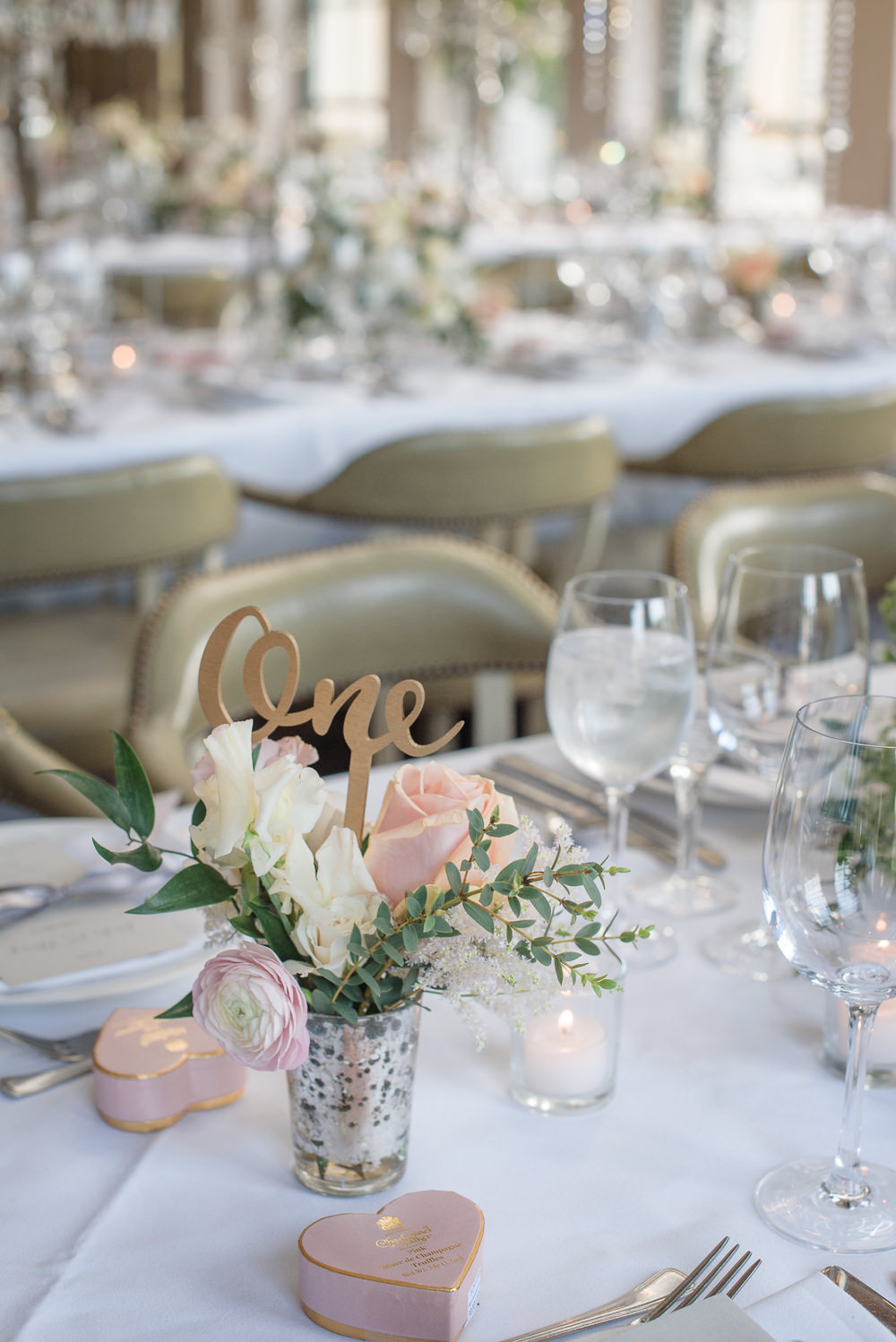 Table Number Laser Cut Wooden Calligraphy Peach Blush Rose Babington House Wedding Ria Mishaal Photography