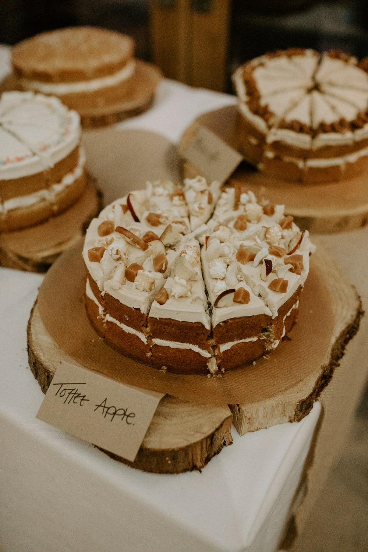Cake Dessert Table Barn Upcote Wedding Siobhan Beales Photography
