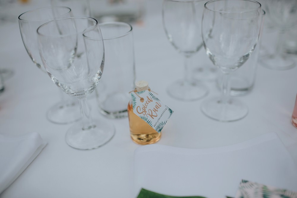 Drink Bottle Favours Mini Sefton Park Wedding Bloom Weddings