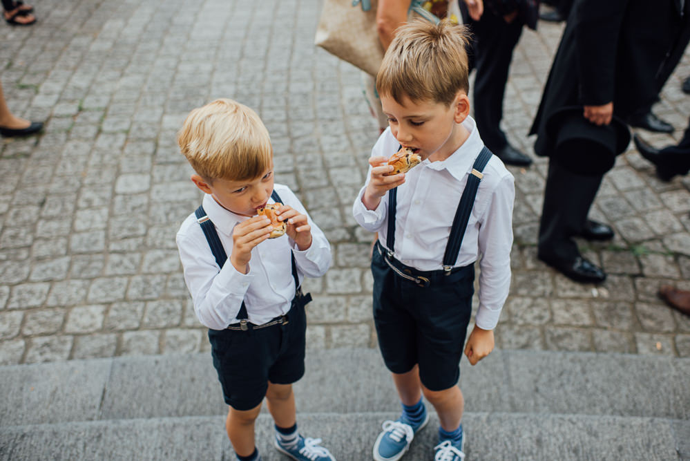 Page Boys Shorts Braces St Paul's Cathedral Wedding The Shannons Photography