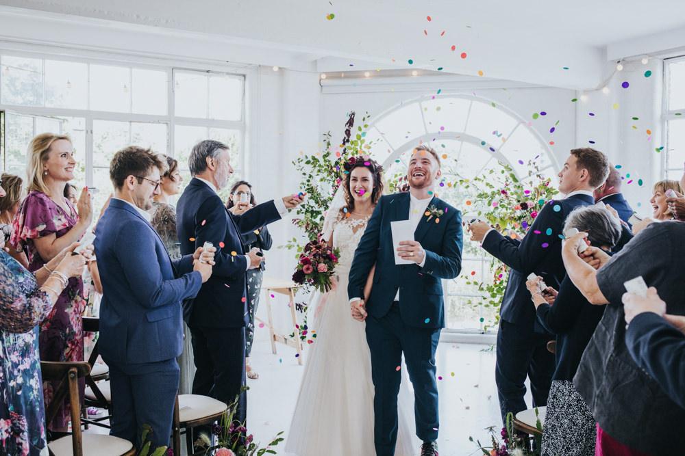 Confetti Wimborne House Wedding Eva Photography