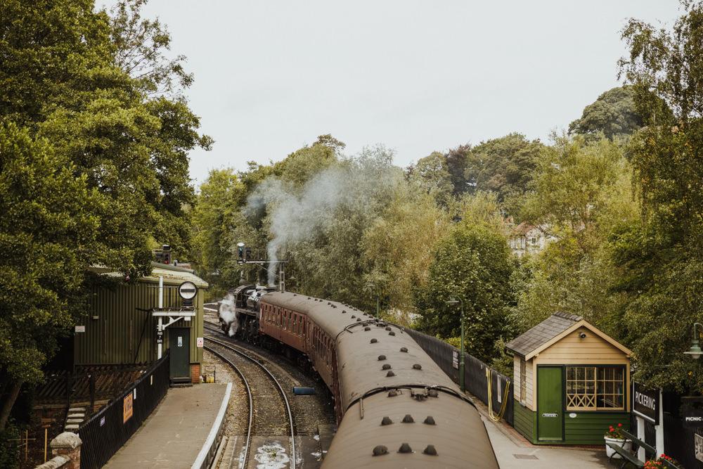 Train Station Harry Potter Wedding Photography34