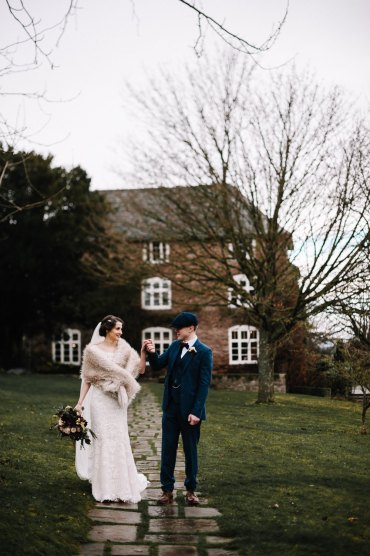 Dress Gown Bride Bridal Veil Train Essense of Australia Lace Dewsall Court Wedding Oobaloos Photography