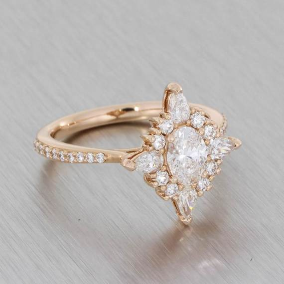 Durham Rose Bespoke Engagement Ring Experience