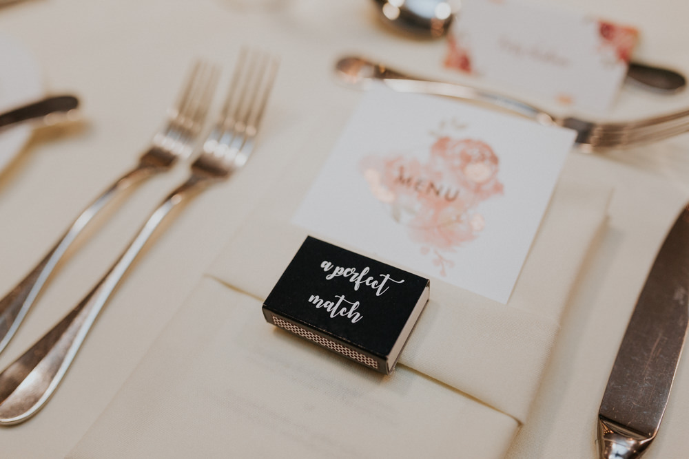 A Perfect Match Box Favours Gaynes Park Wedding Kate Gray Photography