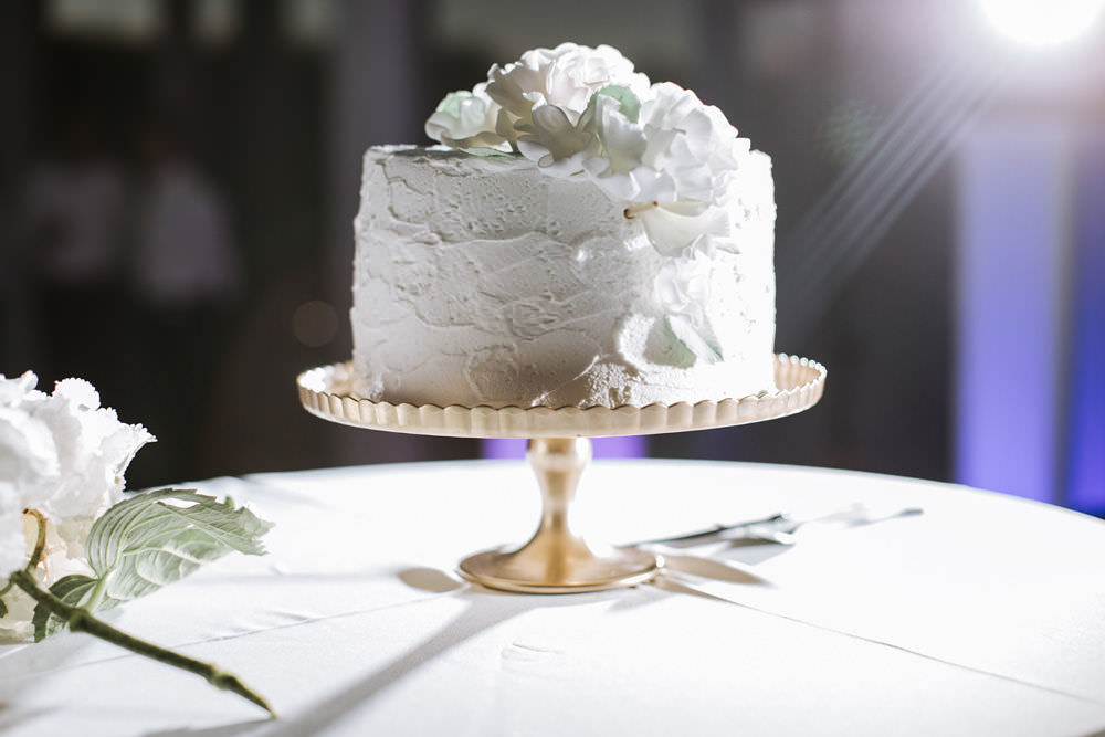White Buttercream Cake Portugal Destination Wedding Ana Parker Photography