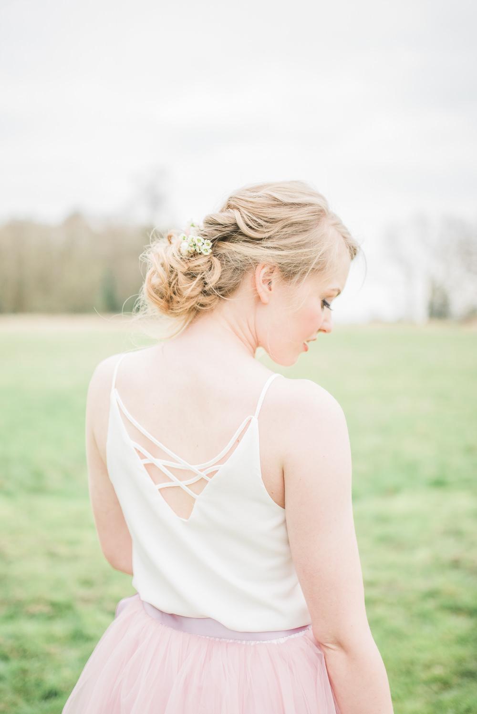 Bride Bridal Bridesmaid Hair Style Up Do Springtime Bridal Shower Ideas Hen Party Laura Jane Photography