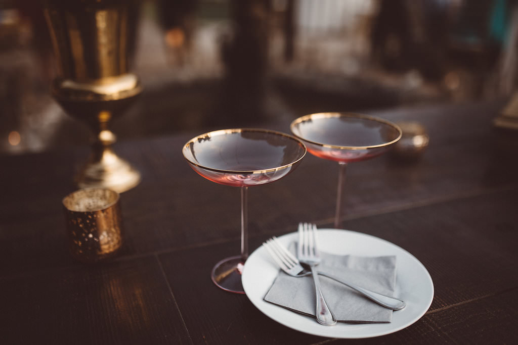 Cocktail Glasses Charleston Wedding Katherine Dalton Photography