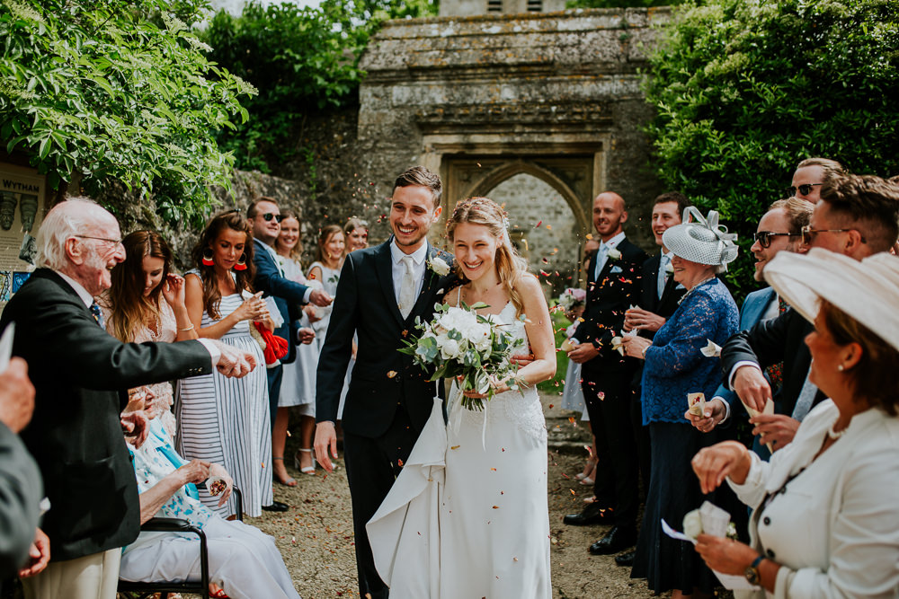 Confetti DIY Village Hall Wedding PhotoBart
