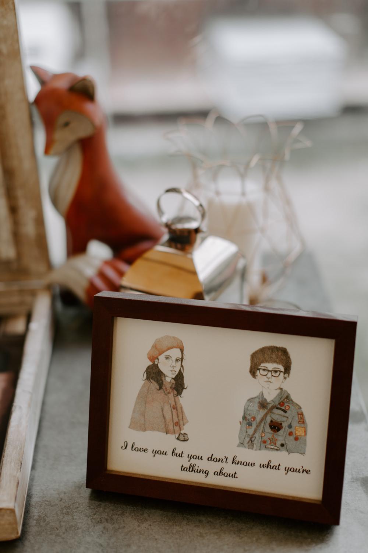 Love Quote Sign Dreys Wedding Grace & Mitch Photo & Film