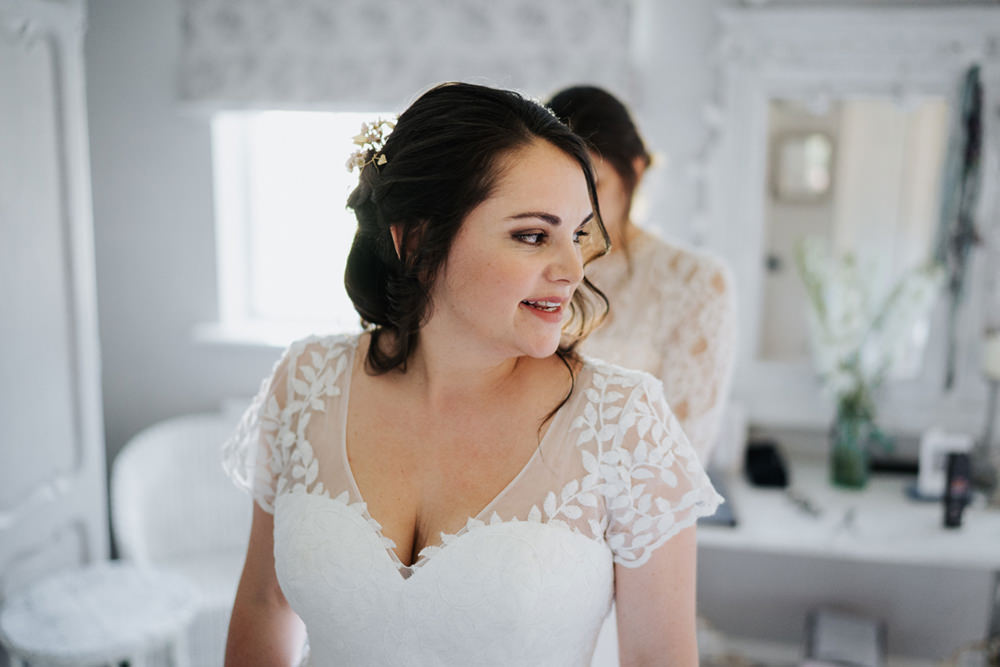 Bride Bridal Hair Make Up Greenhouse Wedding Kit Myers Photography