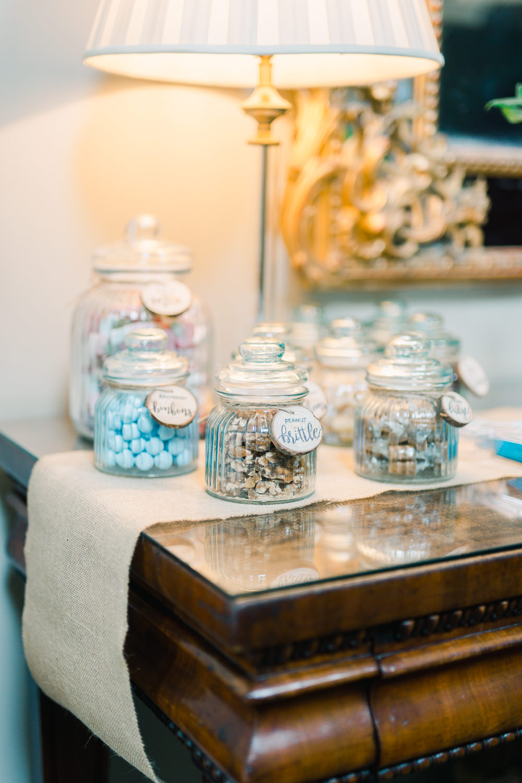 Sweetie Table Sweet Jars Saltmarshe Hall Wedding Jessica Davies Photography