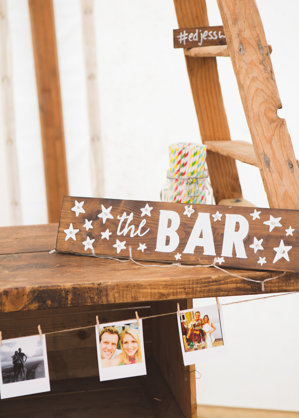 Sign Signage Signs Bar Wooden Airbnb Wedding Pickavance Weddings