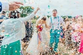 Big Top Wedding Anna Pumer Photography Confetti