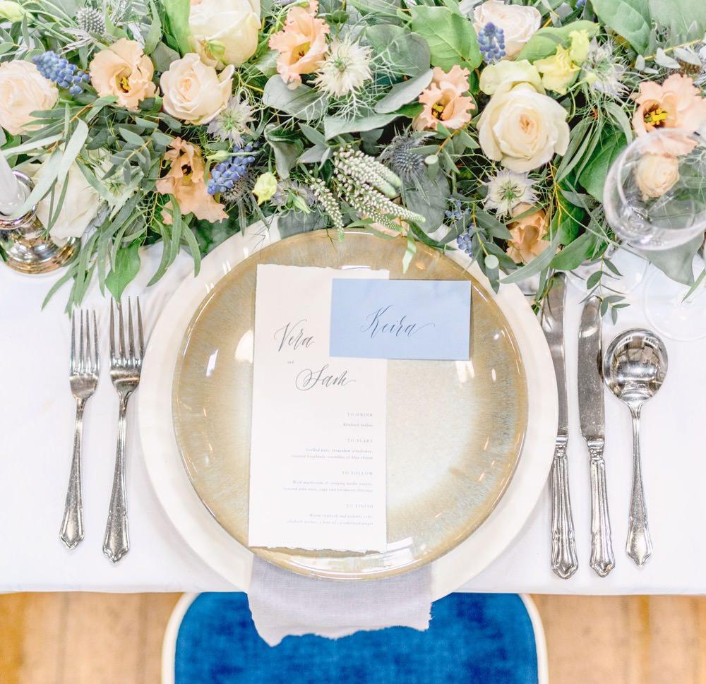 Place Setting Plates Napinks Cutlery Elegant Wedding Ideas Yll Weddings