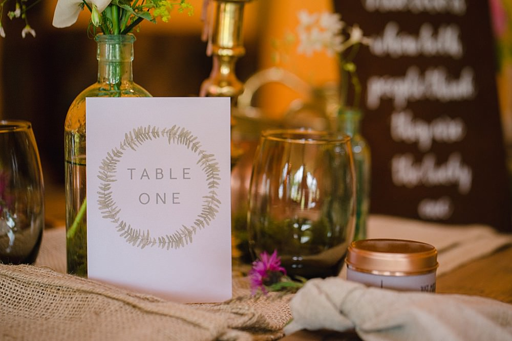 Table Number Stationery Pet Wedding Ideas Vicky Plum Photography