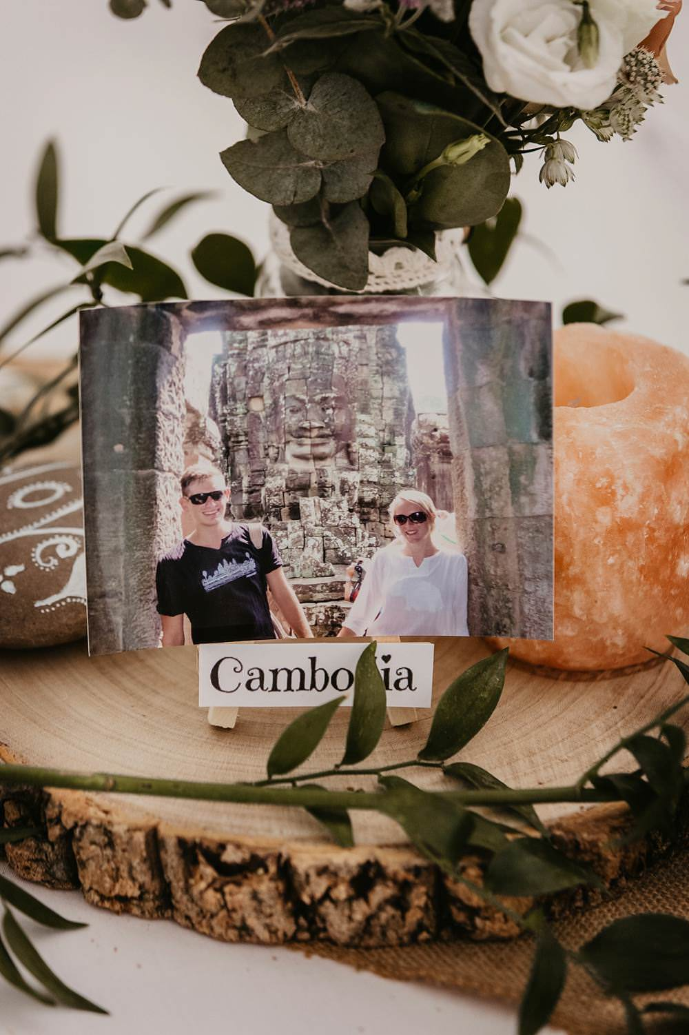 Travel Places Table Names Eggington House Wedding October Willis Photography