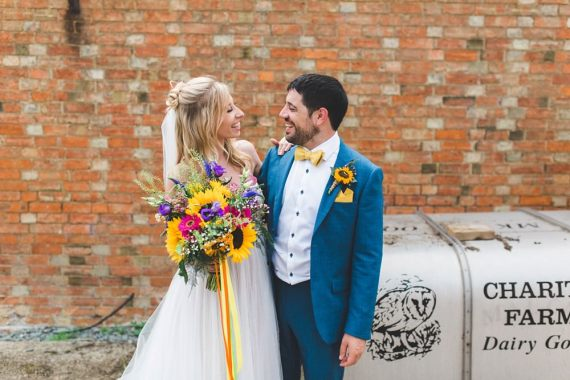 Bedfordshire Farm Wedding Milkbottle Photography