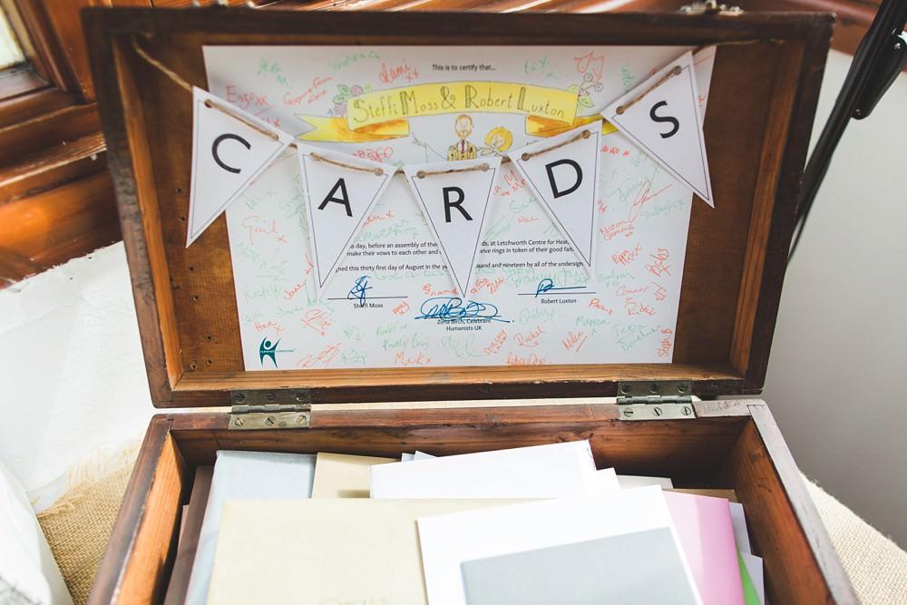 Card Vintage Suitcase Letchworth Wedding Milkbottle Photography