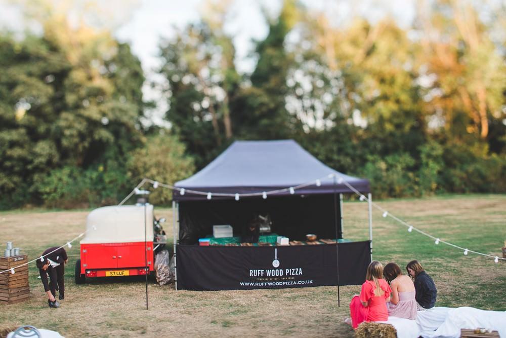 Pizza Truck Van Letchworth Wedding Milkbottle Photography