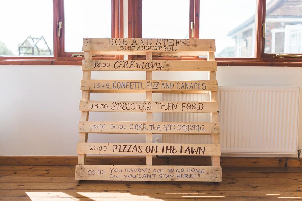 Wooden Pallet Sign Signs Signage Letchworth Wedding Milkbottle Photography