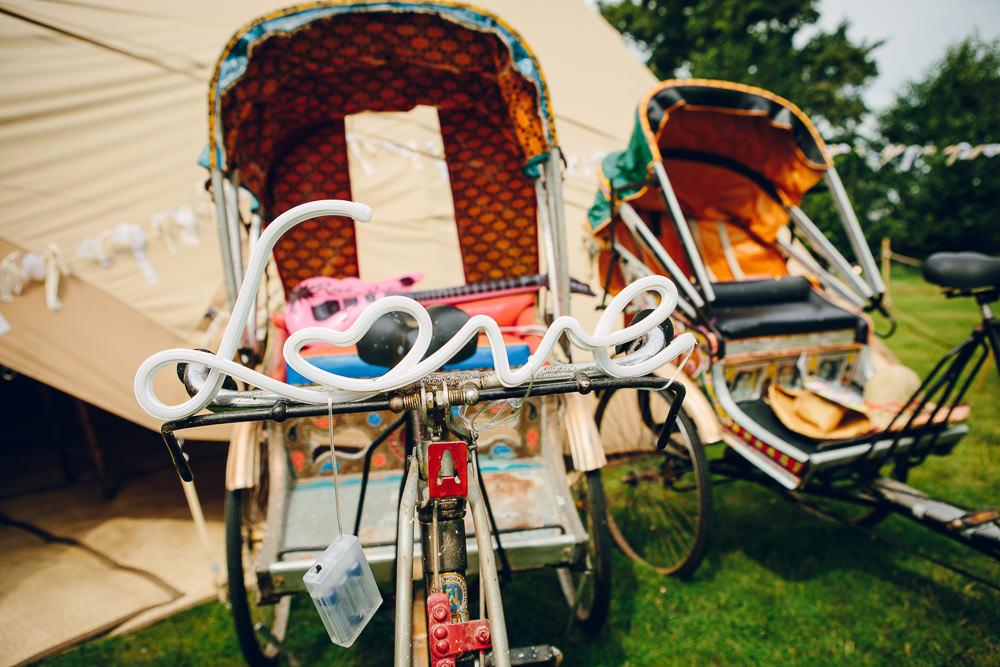 Tuk Tuk Bikes Alderford Lake Wedding Amy B Photography