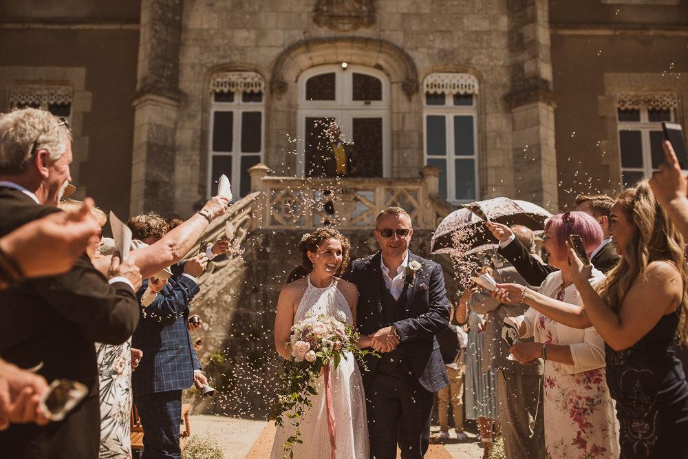 Confetti Escape To The Chateau Wedding The Springles