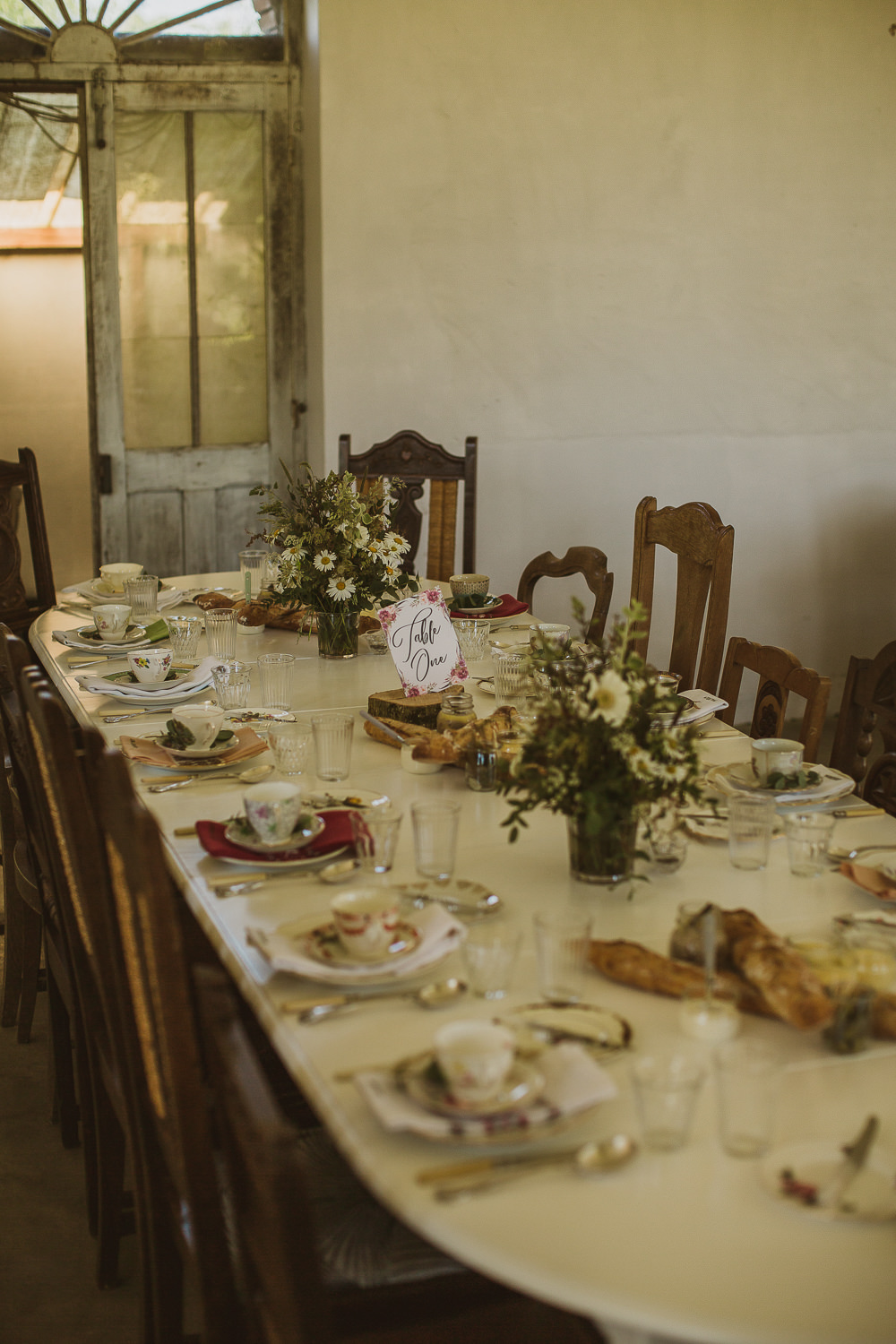 Table Decor Flowers Plates Place Settings Escape To The Chateau Wedding The Springles