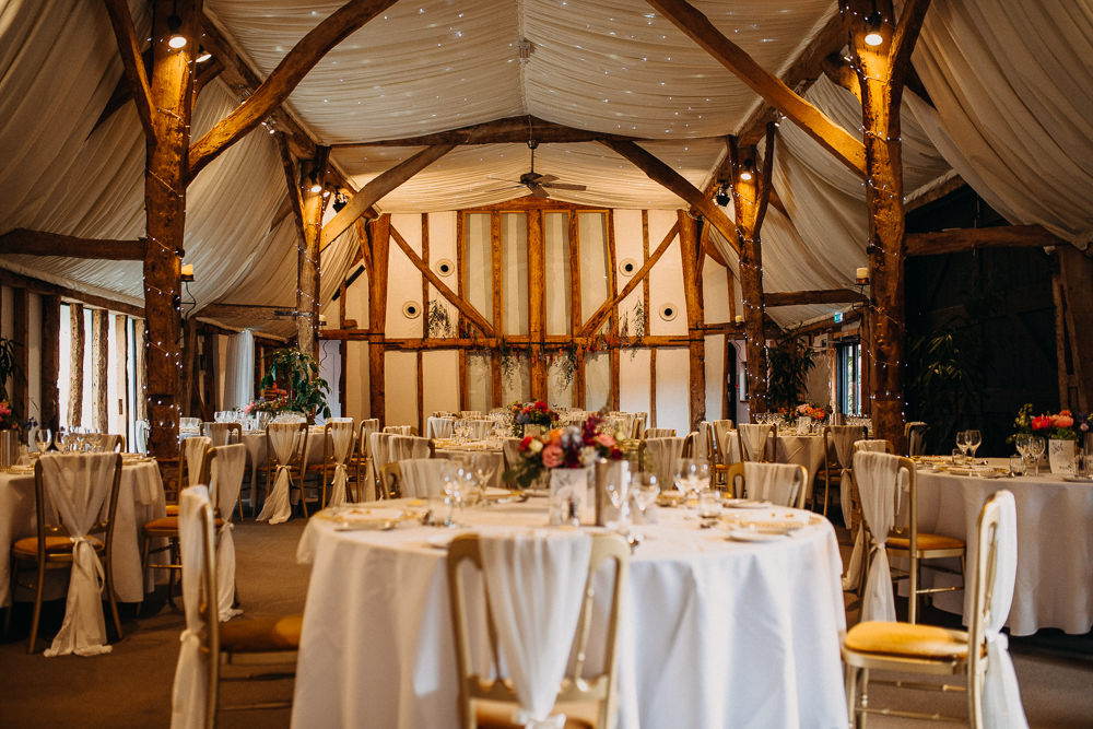 Barn Reception South Farm Wedding Miracle Moments