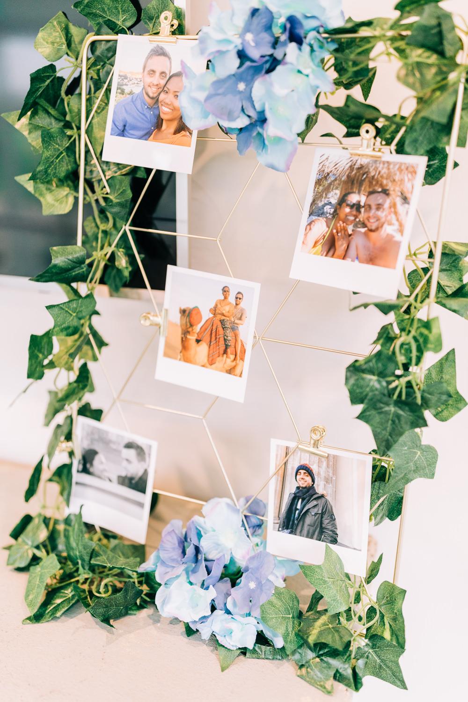 Photo Photographs Wall Polaroid Gate Street Barn Wedding Camilla J Hards