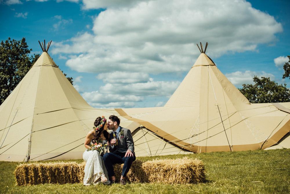 Tipi Long Furlong Farm Wedding Michelle Wood Photographer