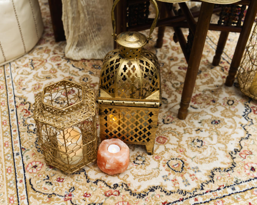 Fold Lanterns Candles Moroccan Wedding Inspiration Luke Batchelor Productions