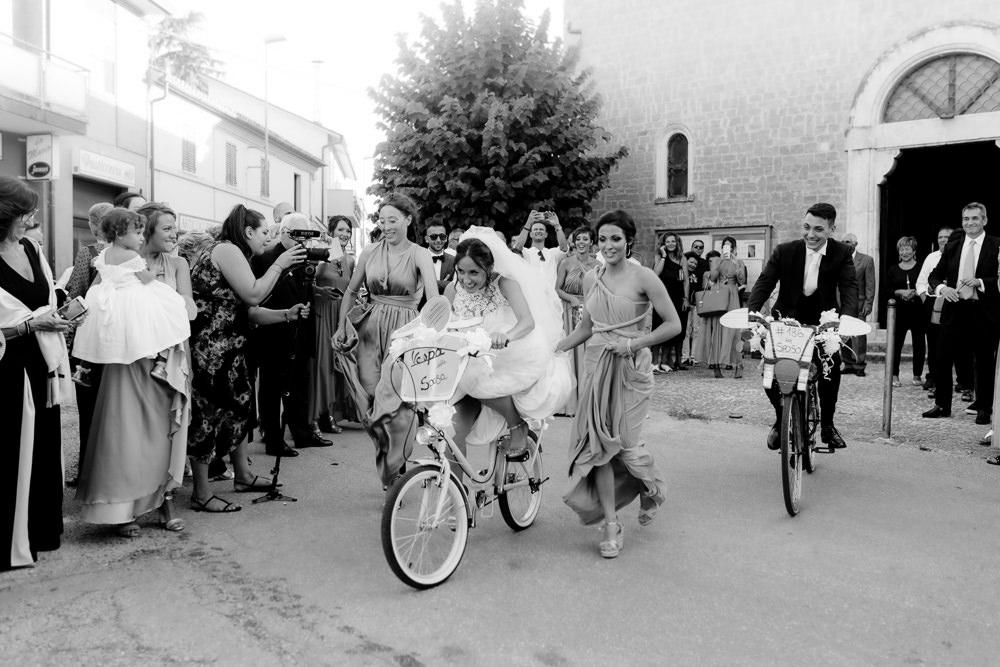 Bicycle Bikes Transport Natural Italy Villa Wedding Flavia Eleonora Tullio