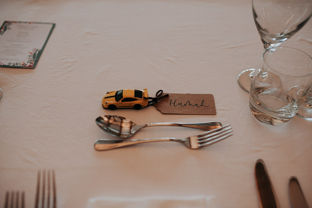 Car Place Name Luggage Tag Swancar Farm Country House Wedding Maree Frances Photography