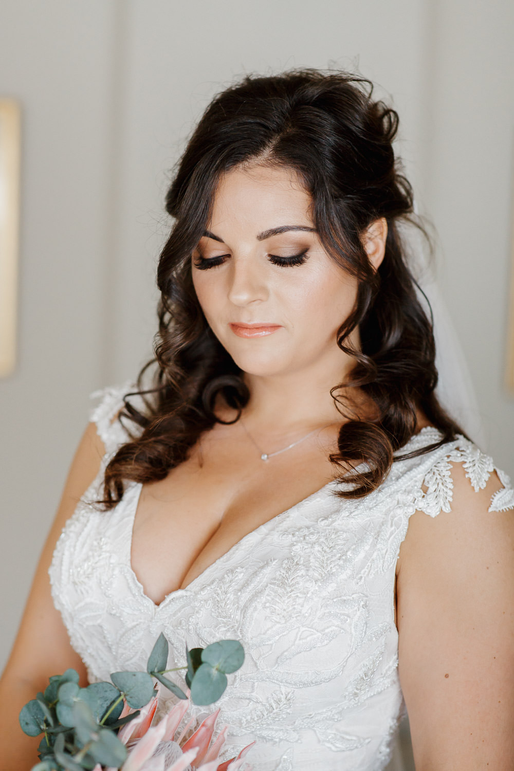 Bride Bridal Make Up Hair Cotswolds Marquee Wedding Jessy Papasavva Photography