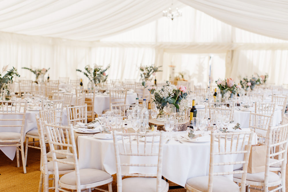 Flowers Decor Cotswolds Marquee Wedding Jessy Papasavva Photography