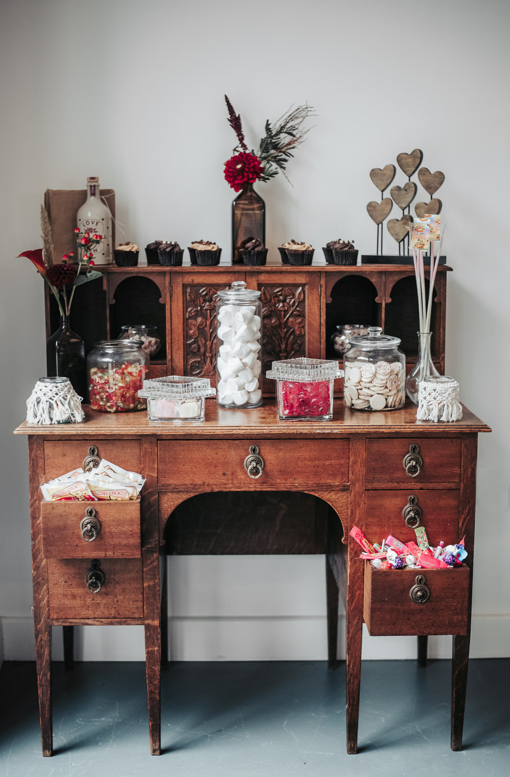 Table Sweets Sweetie Furniture Dresser Eco Friendly Wedding Inspiration Sarah Jayne Photography