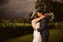 Rainbow Eden Barn Wedding Margarita Hope Photography